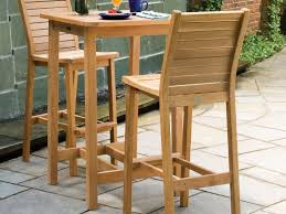 Patio Bistro Table Set by Patio 63 Small Patio Table Wooden Bistro Table Set For