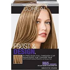 frosting hair amazon com l oréal paris frost and design cap hair highlights