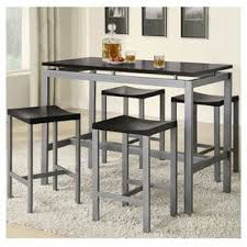 Pub Tables  Bistro Sets Youll Love Wayfair - Kitchen table with stools underneath