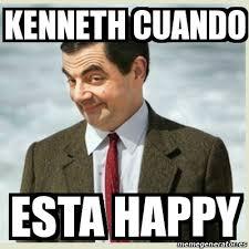 Kenneth Meme - meme mr bean kenneth cuando esta happy 16165692