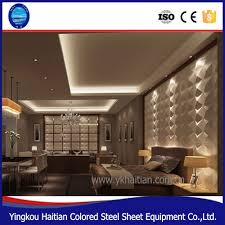 3d Bedroom Wall Panels Pvc Decor 3d Embossed Background Panel Board Home Decoration Pop