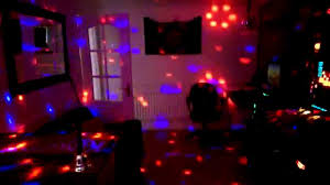 chill out bar room digital led ball effect laser disco light
