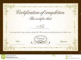 free template for certificate catering menu template free