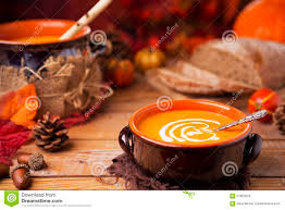 home made fall decorations homemade pumpkin soup on a rustic table with autumn decorations