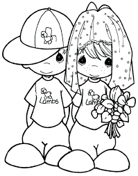 free printable wedding colouring pictures coloring pages
