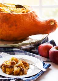 vegetarian entrees for thanksgiving how do i cook this hubbard squash with cornbread stuffing just