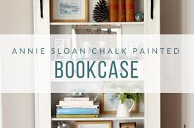 Annie Sloan Painted Bookcase Furniture Archives Chalking Up Success