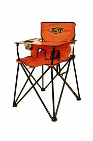 Child High Chair Choose Your Ncaa Team Tailgating Portable Folding Baby High Chair