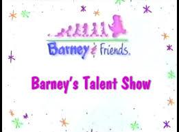 image barney u0027s talent show title card png barney wiki fandom