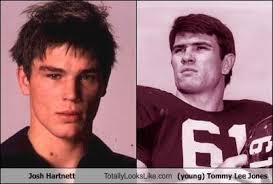Tommy Lee Jones Meme - josh hartnett totally looks like young tommy lee jones
