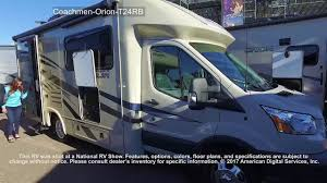 Coachmen Class C Motorhome Floor Plans by Coachmen Orion T24rb Youtube
