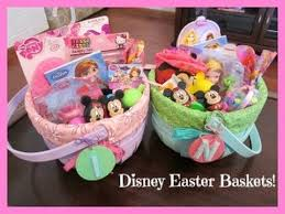 easter gift baskets for toddlers disney themed easter baskets
