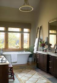 Gold Bathroom Mirror by Bathroom Beige Countertop And Dark Wood Vanity With Gold Bathroom