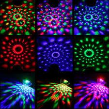 led disco ball light portable mini led disco ball light rgb stage light remote control