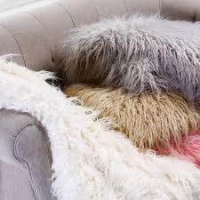 Faux Fur Throw Grey Fur Throw Rugs Roselawnlutheran