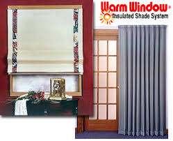 Insulated Window Curtains Insulated Shade Systems Insulated Window Shades Insulated