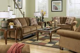 Brown Sofa White Furniture Malory By Ashley Collection