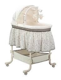 simmons slumber time gliding bassinet nursery rhyme babies
