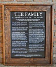 framed family proclamation product specials sale select options religious the family