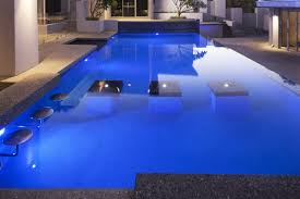 Custom Pools By Design by Custom Pools Including Mid Pool Piers With Led Lit Water Features