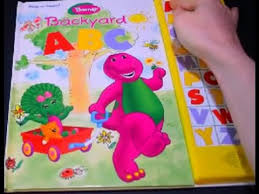 barney backyard abc play sound alphabet letters educational