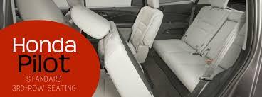 do all honda pilots 3rd row seating does the honda pilot a third row