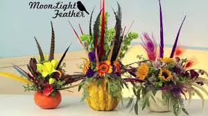 moonlight feathers moonlight feathers and flowers centerpiece 2015