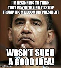 Good Idea Meme - i m beginning to think that maybe trying to stop trump from becoming
