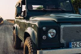 old land rover defender nothing goes together like a scorching model and classic land