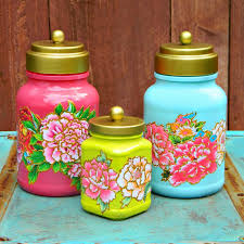 Repurpose Upcycle - this decoupaged jar upcycle by mark montano is one of our very
