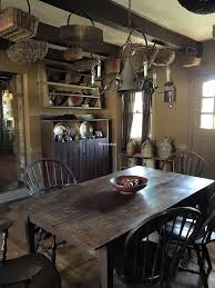 Primitive Kitchen Table by 592 Best Early Colonial Farmhouse Interiors Images On Pinterest