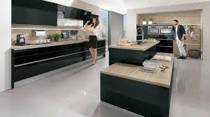 cuisine noir et gris cuisine noir et bois top deco cuisine noir et gris cuisine et