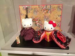 visual art under the hollywood sign hello kitty hinamatsuri doll