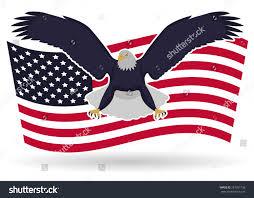 Eagles Flag Blue Eagle Flag Stock Vector 281291738 Shutterstock