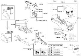 lexus parts hk console box u0026 bracket lexus part list jp carparts com
