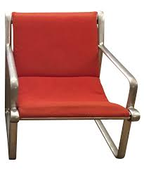 Knoll Rocking Chair Vintage Hannah Morrison 70s Lounge Chair For Knoll Chairish