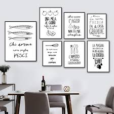 black and white prints for kitchen best offers for apple kitchen decoration canvas brands and