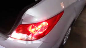 2013 hyundai sonata tail light bulb size 2013 hyundai accent testing tail lights after changing bulbs