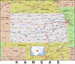 Map Of Ks Ks Kansas Public Domain Maps By Pat The Free Open Source