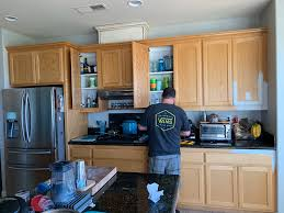 refinishing kitchen cabinets reddit 6 simple steps to painting cabinets perfectly inspired