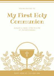 communion invitation customize 198 communion invitation templates online canva