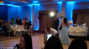 Hit The Floor Medicine Hat - groom knocks out bride with kick to the head as he performs