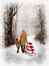 merry christmas happy holidays gif dreaming of a white christmas