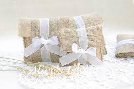 favor bags for wedding 12pcs lot rustic favor bags country wedding favors burlap wedding