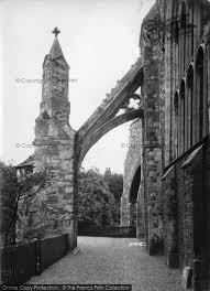 flying buttress photo of rye parish church of st mary flying buttress 1912