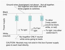 3 gang one way light switch wiring diagram wiring diagram and