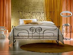 bedroom furniture iron bed single mattress with bed frame iron