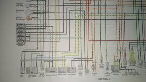 need wiring diagram for 1997 gsxr 600 needs to have white wire