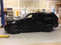 jeep cherokee black with black rims srt 8 jeep grand cherokee trim black out coastal sign u0026 design llc