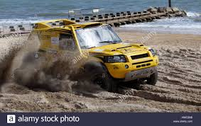 racing land rover dakar rally team prepared land rover freelander demonstrating
